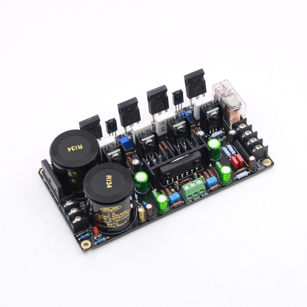 Assembly M3 NJW0281 NJW0302 FET Amplifier Board 150W 150W Stereo HiFi Power Amp Board 2019 New