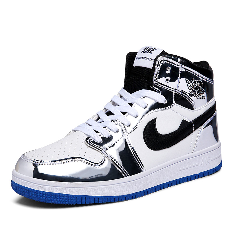 Air Force One Basketball Skateboard Shoes AJ1 Jordan Shoes Sneakers for Men Breathable Sport Shoes Athletic Boots Men's Sneakers