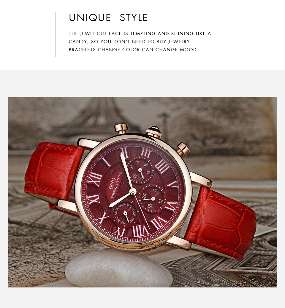 Montre Vintage Bracelet En Cuir