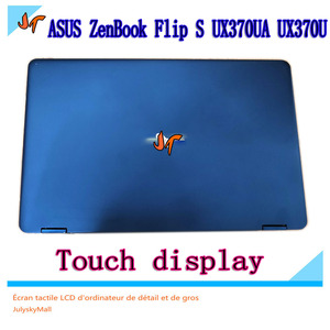 """Image 4 - 13.3"""" Touch LCD Display for ASUS ZenBook Flip S UX370UA UX370U UX370UAF UX370UAR Screen, Blue Upper Upper LCD Screen Replacement"""