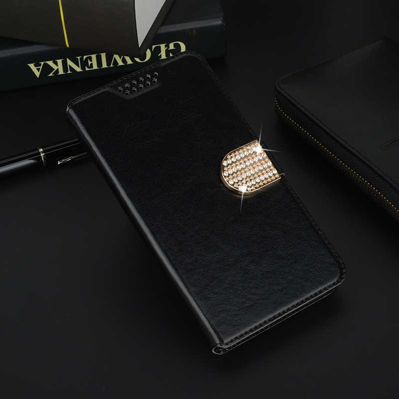 حافظة Coque Wiko UFeel Wiko Upulse Wim View 2 Pro XL Max U Feel Lite Prime أغطية جلد محفظة Fundas Para