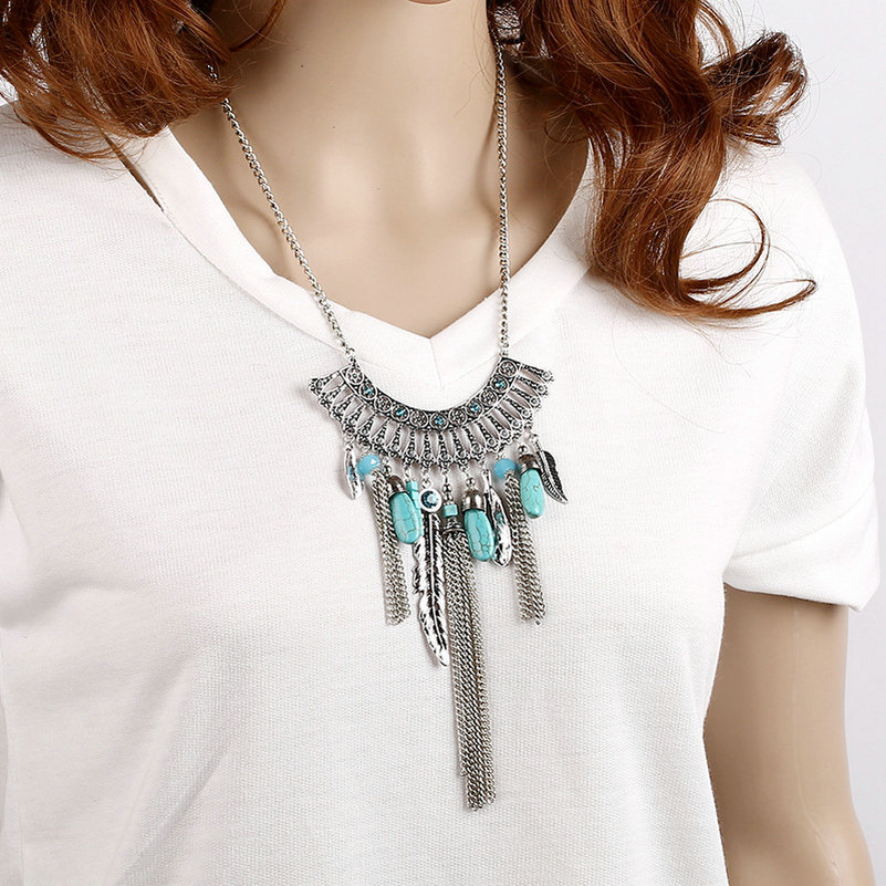 chains zoom contemporary in stonemetalscissors chic n hover necklaces to necklace view w fashion by boho