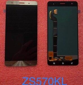 """Image 4 - سريع الأسهم ل ASUS Zenfone 3 ديلوكس Z016S Z016D ZS570KL LCD عرض تعمل باللمس محول الأرقام الجمعية 5.7 """"ل ASUS ZS570KL LCD"""
