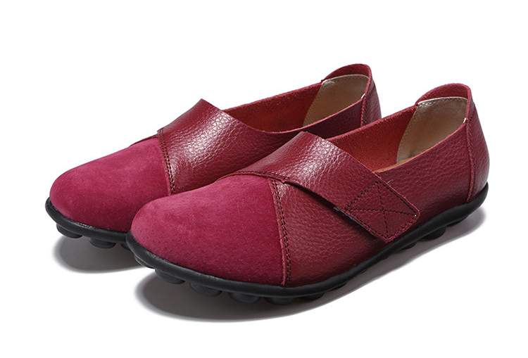 AH 1987-2019 Spring Autumn Women's Shoes Genuine Leather Woman Loafers-27