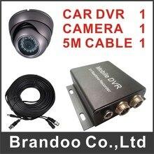 Автоматическая запись автомобильный видеорегистратор комплект, в том числе автомобильный видеорегистратор + камера автомобиля + видео кабель, авто запись зажигания автомобиля на, модель BD-300B