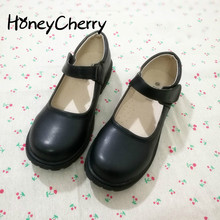 Japanese Doll Shoes Lolita Shoes Head Lolita Cos Jk Maid Uniform Size Student Lolita Shoes black flats shoes