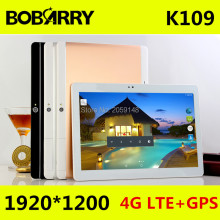 BOBARRY 4G LTE K109 Android 6.0 10 inch tablet pc Octa Core 4GB RAM 128GB ROM 8 Cores 5MP IPS Kids Gift Best Tablets computer