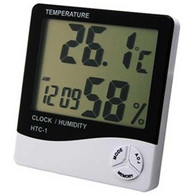 Часы-Метеостанция ЖК-дисплей Электронный Цифровой температурный измеритель влажности Крытый Уличный Термометр гигрометр метр будильник
