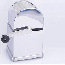 Manual Stainless Steel Household Ice Crusher Ice Cream Maker For Making Mojito Drinking For Bar Shop Coffee Shop