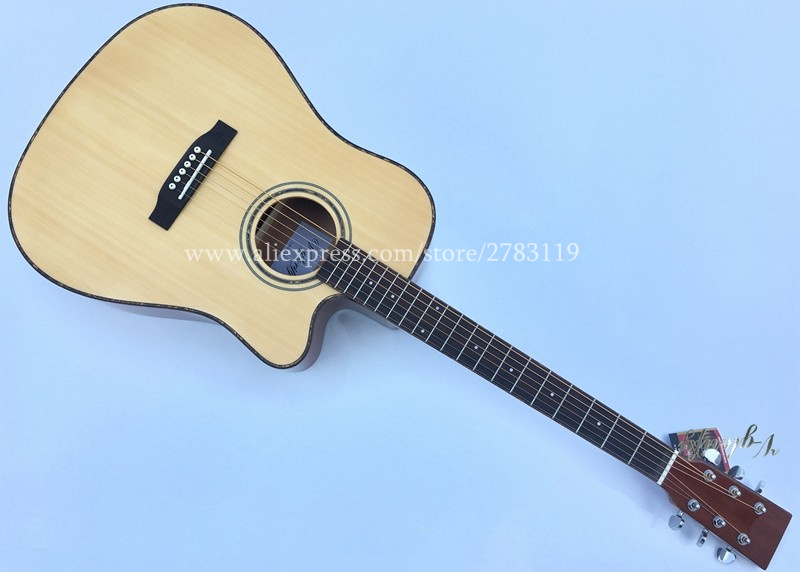 Guitarra acústica profesional de 41