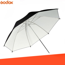 40 дюймов/101 см студийный Зонт черно-белая резиновая ткань из нержавеющей стали светоотражающий фото-зонт аксессуары для студии
