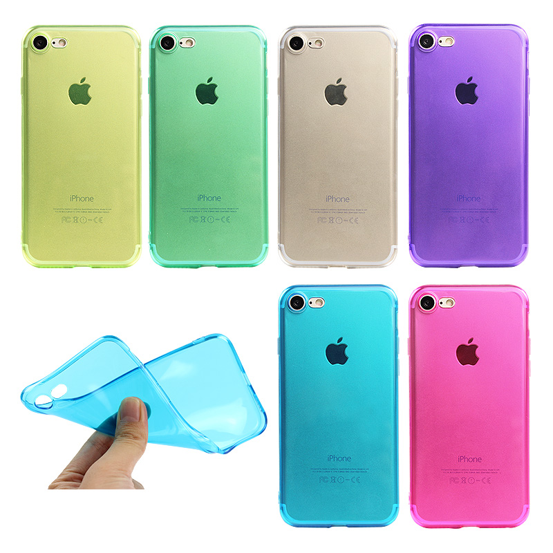 Ultra Thin Crystal Clear Case Cover for iPhone 7 6 6s Plus 5S SE Soft Covers Transparent Silicone Cases for iPhone 6s 6 7 Plus