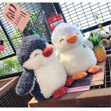 купить New Creative Penguin Plush Toy Doll Doll Pillow Cushion Children's Toys Animal Dolls Kawaii Girl Birthday Gift Home Decoration по цене 653.38 рублей