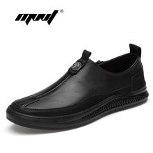 Spring Autumn Quality Men Shoes Genuine Leather Casual Male Outdoor Walking Comfortable Sneakers