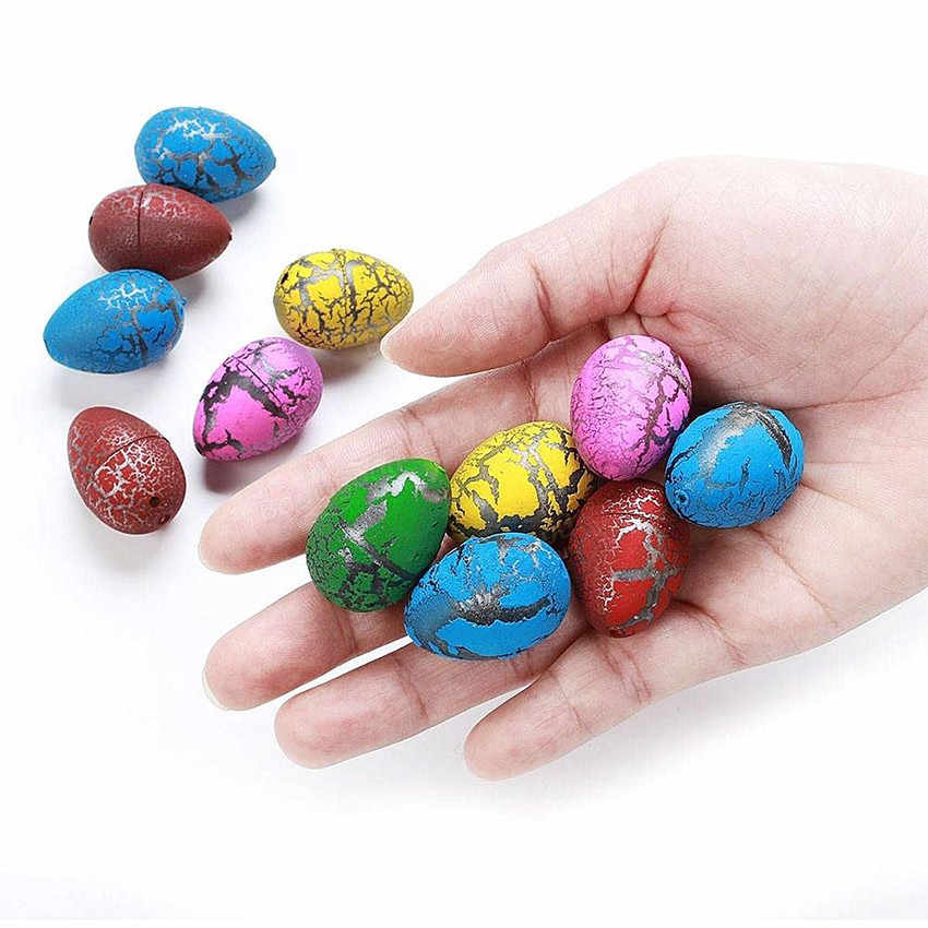 6Pcs Cute Magic Hatching Growing Dinosaur Eggs Add Water Growing Dinosaur Novelty Gag Toys For Child Kids Educational Toys Gifts
