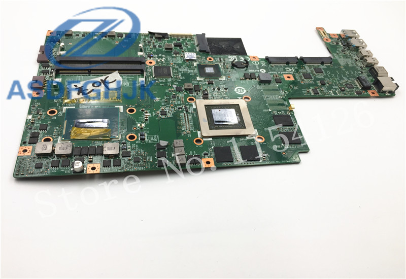 Laptop motherboard FOR MSI GS70 Motherboard MS 1772 MS 17721 DDR3L SR15E i7 4700HQ Non Integrated N15P GX B A2 100% Test ok