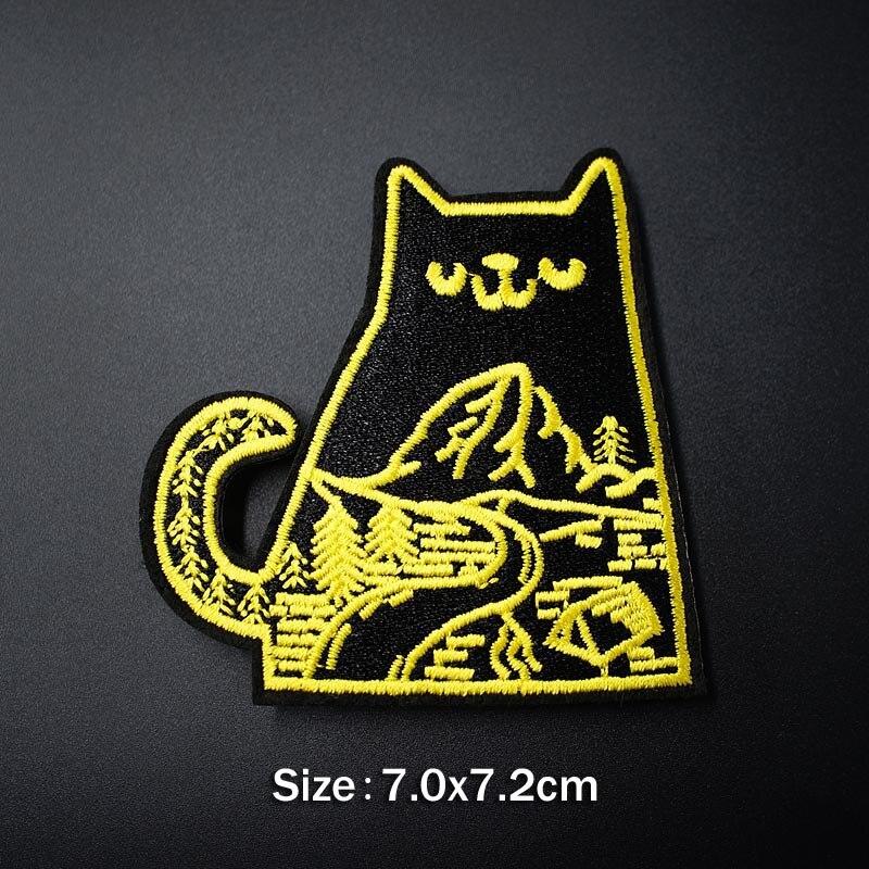 Банан молния кактус DIY тканевые значки для украшения утюга на патч одежда швейное украшение аппликация Пришивные нашивки - Цвет: 10