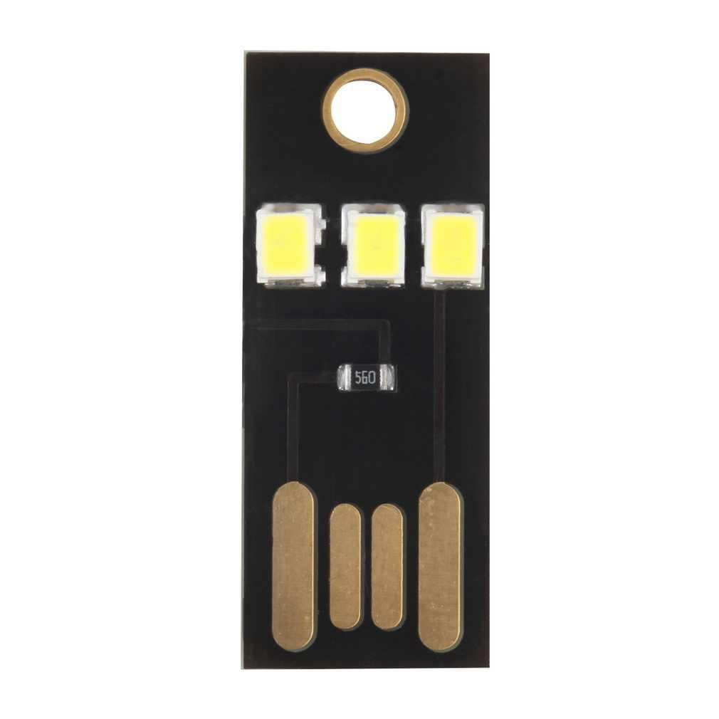 למכור חם Mini USB כוח LED אור אולטרה חשמל נמוך 2835 שבבי מחשב כיס כרטיס המנורה מחנה הלילה נייד לבנק כוח מחשב נייד
