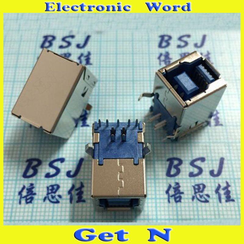 20pcs-50High Spreed Printer 3.0 USB Female Ports 90degree Interface Print BF Jacks for Computer PC Motherboard