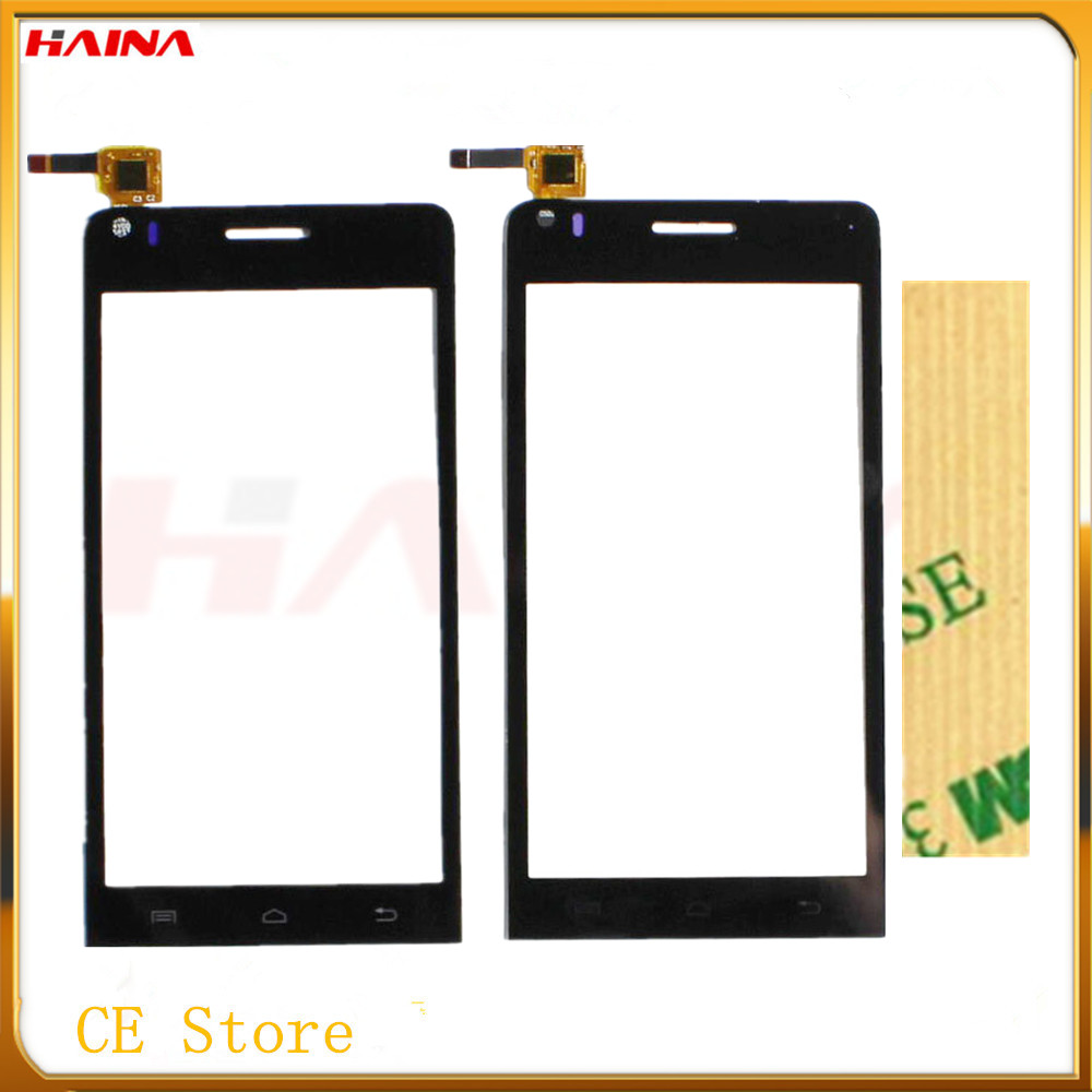 New Touch Screen Digitizer Glass For Explay Tornado Front Glass Sensor Panel Touchscreen Digitizer Repair Black Color