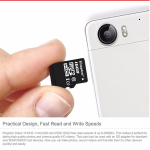 Image 5 - KingstonTechnology Micro SD Card Class 10 16GB MicroSDHC TF / Micro SD Card Black Memory Card Data read speeds up to 80MB/s