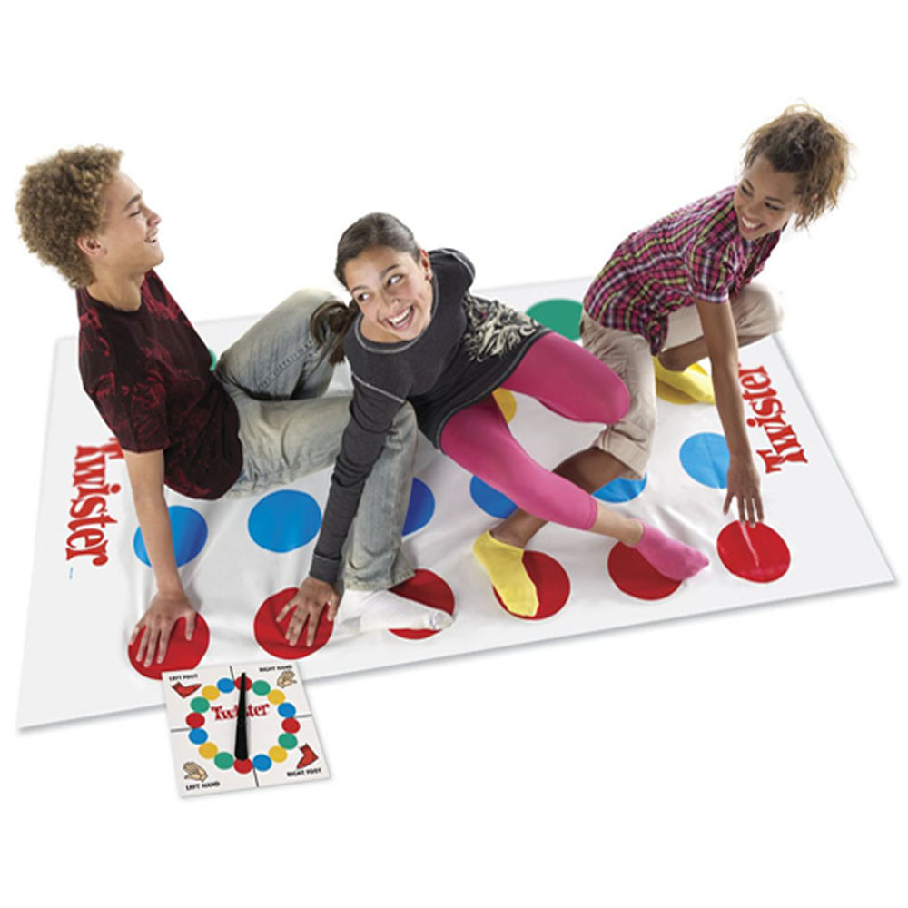 1Set Twister The Game That Ties You Up In Knots Board Game Classic Family Party Fun Game ...
