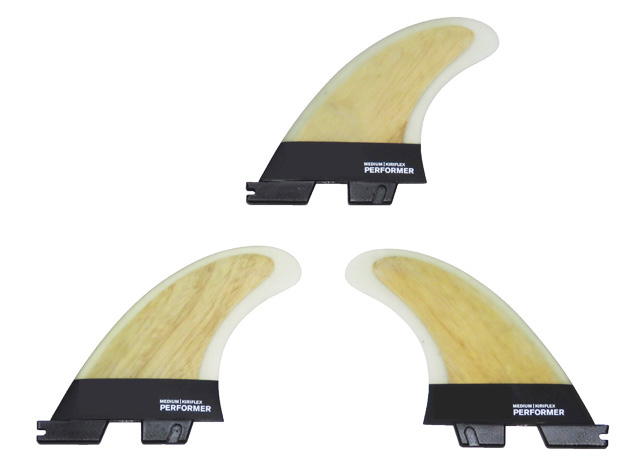 FCS II Kiriflex PERFORMER TRI SPECIALTY FINS-in Surfing from Sports & Entertainment    1