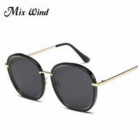 2016 Mix Wind Hot Sale Fashion High Quality Sunglasses Brand Designer Sunglasses Men And Women Retro