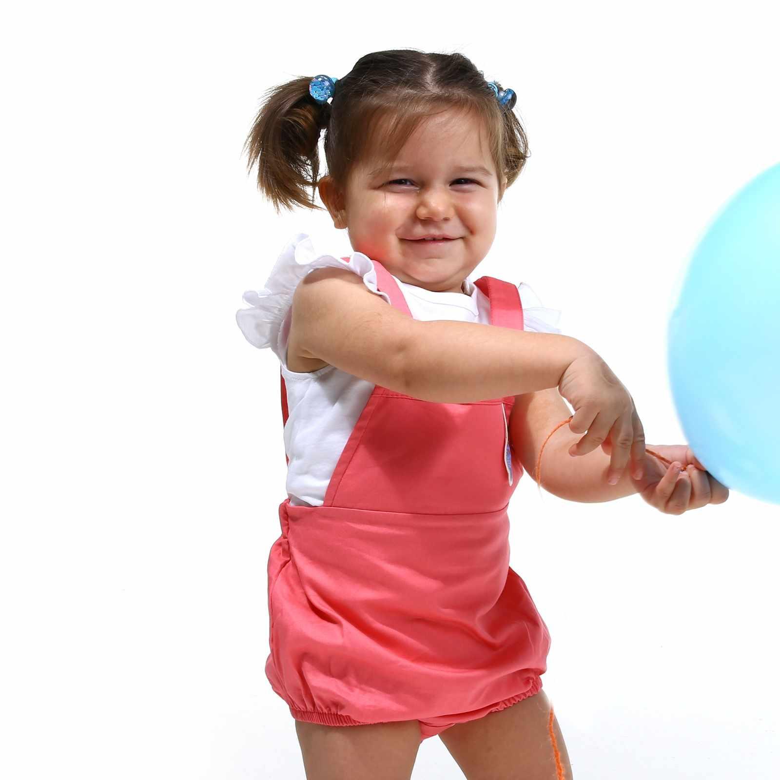 Ebebek HelloBaby Vis Thema Baby Meisje Bodysuit Jumpsuit Tshirt Set