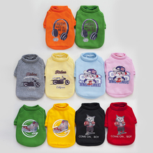 Cartoon Pet Dog Clothes Puppy Hoodies Funny Costume for Small Clothing Coat Jacket Medium Cat Outfit S-XXL