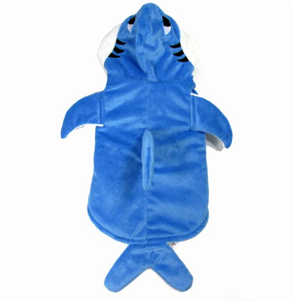small dog shark costume