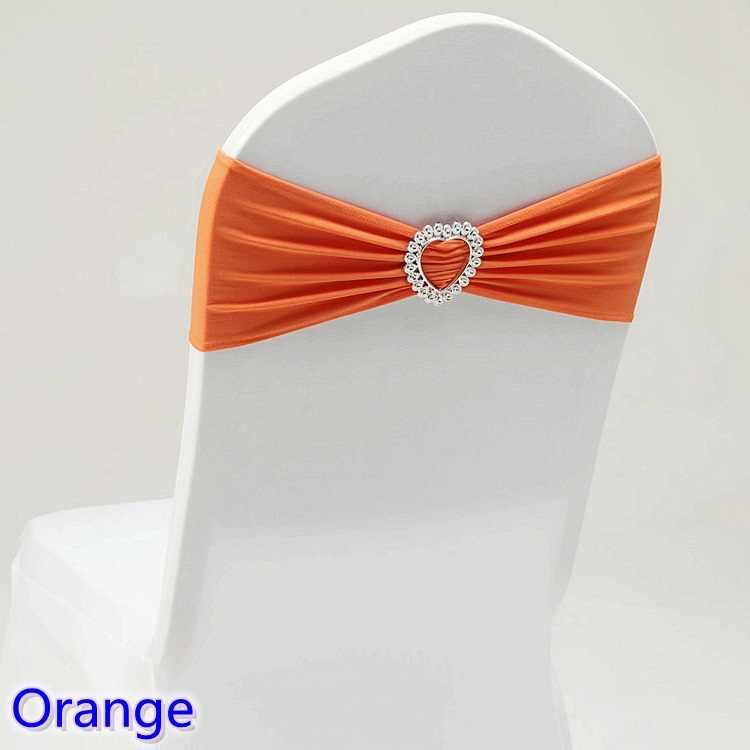 20 цветов спандекс Пояс Свадьба лайкра стул полоса стрейч для чехлы на стулья украшения вечерние лента на Банкетный стул