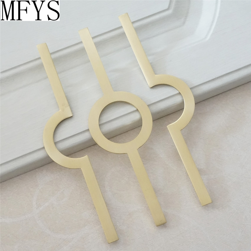 5 quot Modern Dresser Pull Knobs Drawer Pulls Handles Kitchen Cabinet Handle Black Brass Gold Furniture Door Handles Hardware in Cabinet Pulls from Home Improvement
