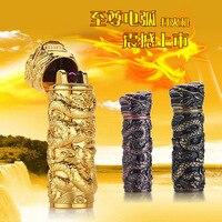 Luxury Zinc Alloy Mini Lighters Electronic Arc Cigarette Lighters Electric Charge USB Cigarette lighters Windproof China Style