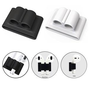 Image 5 - 5 в 1 сумка для хранения наушников, чехол для наушников AirPods, защитный чехол для наушников, чехол для Apple AirPods, аксессуары