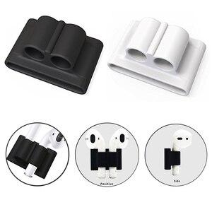 Image 5 - 5 w 1 schowek torba na słuchawki do etui airpods słuchawki douszne słuchawki Protector pokrywa dla apple airpods Case akcesoria