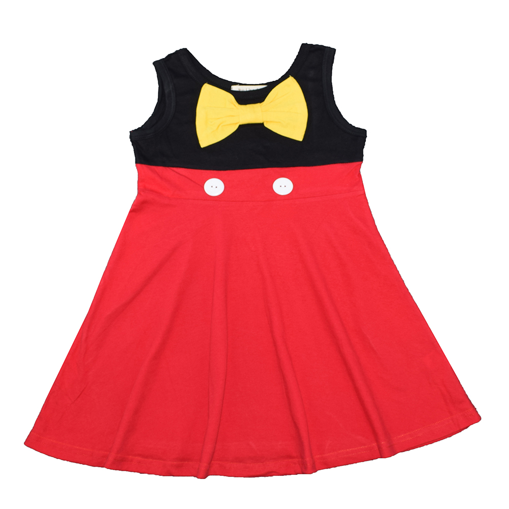 Minnie Mouse Costume  princess Dress Girls Dress Long Sleeve  Princess Dress Girls Clothes Animal Pattern Children Costume