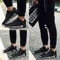 39--47 Eur Plus Size 2017 Homens Da Moda Sapatos Casuais Sapatos primavera verão Novo Design leve Malha Respirável sapatilhas sapatos sapatas Dos Homens