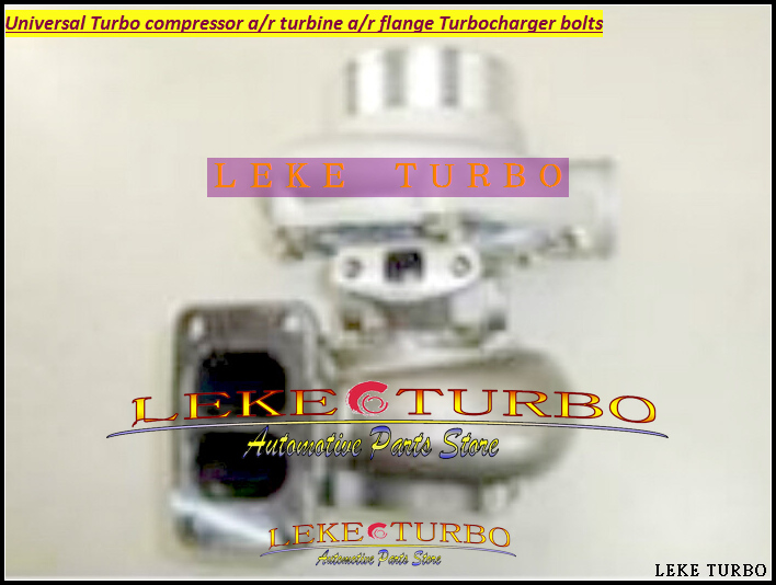 Universal Turbo GT35/40 GT35 GT40 Compressor AR 0.70 ; T3 flange;Outlet 4 bolt;Water Cooled ;Journal bearing Turbocharger kinugawa turbine outlet steel flange 5 bolt f rd falcon xr6 g rr tt gt3540 turbo 412 03002 006