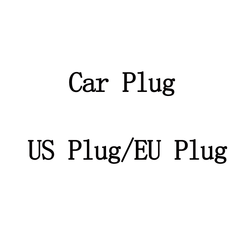 220V/110V/12V Car Plug US Plug EU Plug