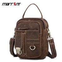 Men's small bags casual waist purse genuine leather handbag shoulder bags crossbody bags for men messenger bags bolsa sac a main