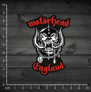 Single motorcycle head band motorhead classic logo stickers notebook stickers guitar stickers 1 98