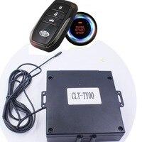 Für Toyota Highlander Auto hinzufügen Push-taste Start/Stop System und remote schlüssel stern stop control system