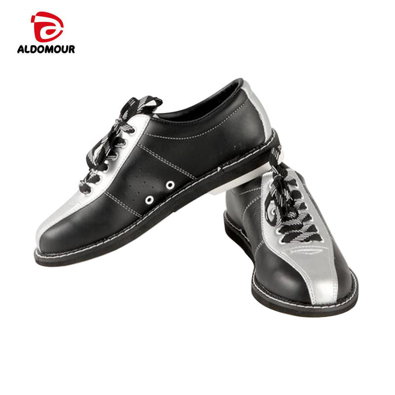 ALDOMOUR Bowling Shoes Brands 2018 Domestic Exports To High Quality Unisex Bowling Shoes With Skid proof Sole Sneakers Hombre