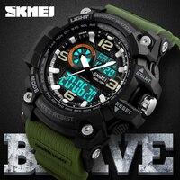 SKMEI Military Sport Watch Men Top Brand Luxury Waterproof Quartz Electronic Wrist Watch For Men Male