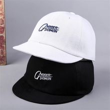 33745a7befd Short cap baseball cap women fashion embroidered letters hat snapback  outdoor sunshade personality men hipsters full