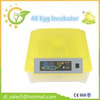 48 Eggs Automatic Incubator Brooder Hatching Chichen Duck Eggs Incubators Digital Temperature Control Turning
