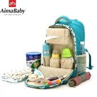 Designer Mother Backpack Maternity Bag Multifunctional Diaper Bags Storage Baby Care Bag Stroller Bags Nappy Dhanging Organizer