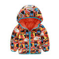 Kids Boys Infants Padded Coats Hooded Winter Warm Down Jacket Snowsuits Outwears 2016 new fashion winter