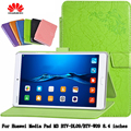 Dormência Ímã Estojo De Couro Suporte Para Huawei M3 BTV-DL09/BTV-W09 8.4 polegada Caso clamshell para tablet PU Escudo Protetor + presente